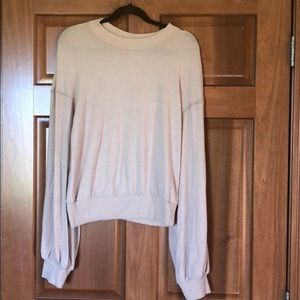 Free People TGIF Pullover Top!